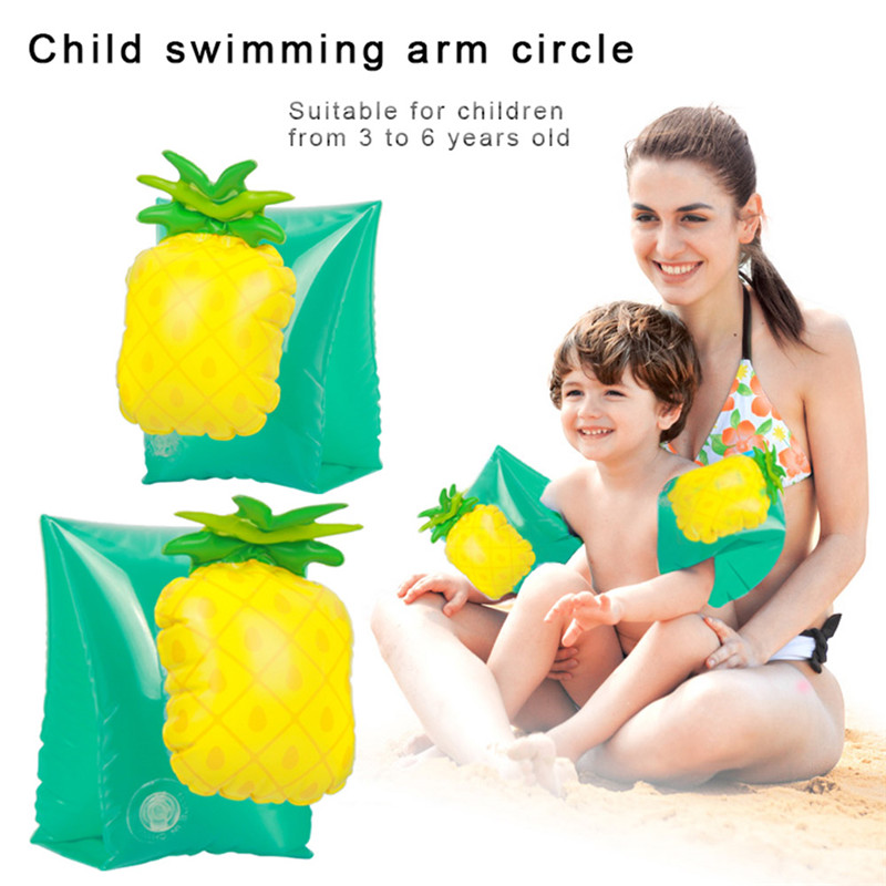 Inflatable Water Wings Swim Arm Bands Floatation Sleeves Swimming Floats Trainer Toy For Kids Children Baby Infant