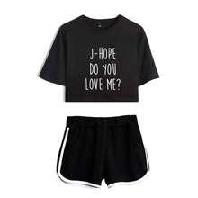 цена на LUCKYFRIDAYF New Do You Love Me FASHION Summer Shorts And T-shirts Women Two Piece Sets Hip Hop Crop Top Casual Clothes
