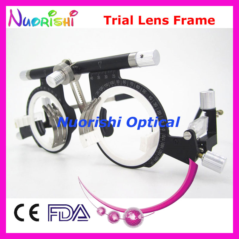 XD10 100 Top Quality Optical Optometry Opthalmic Trial Lens Frame Holding 10pcs Trial Lenses Lowest Shipping