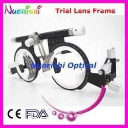 Оптическая оправа для оптической оптометрической линзы XD10, 100% высокое качество, пробная оправа для объектива 10 шт.