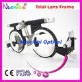 Xd10 100% de calidad superior óptico optometría plegables lente de ensayo de la celebración de 10 unids lentes coste de envío más bajo
