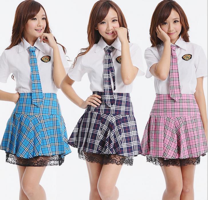New 2014 Japanese School Uniform Set Girls White Shirt and ...