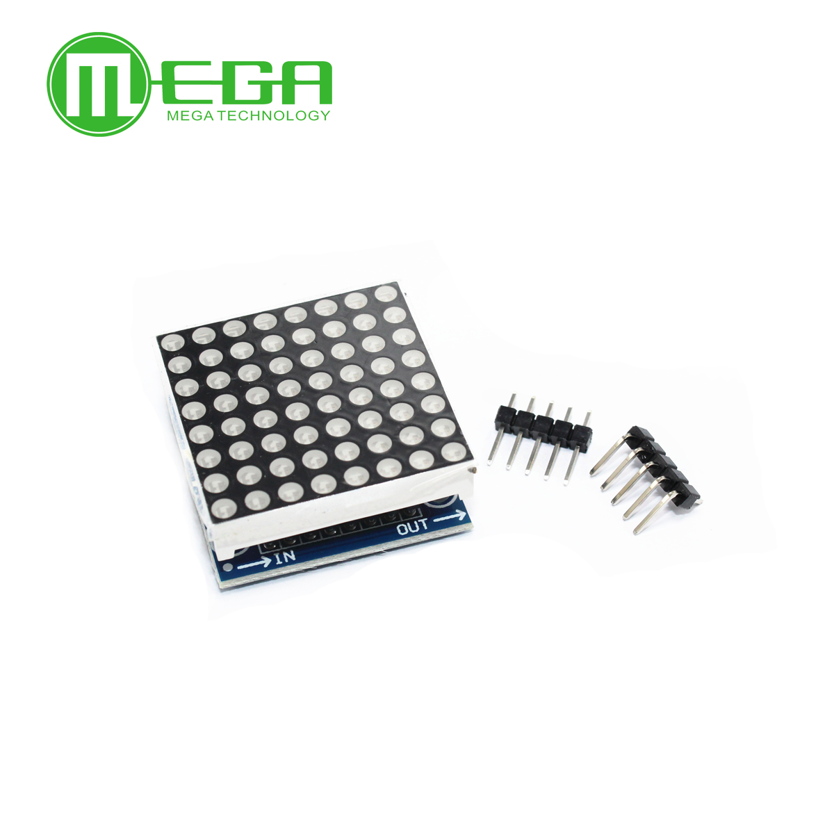 MAX7219 dot matrix modul mikrocontroller modul display modul fertig waren