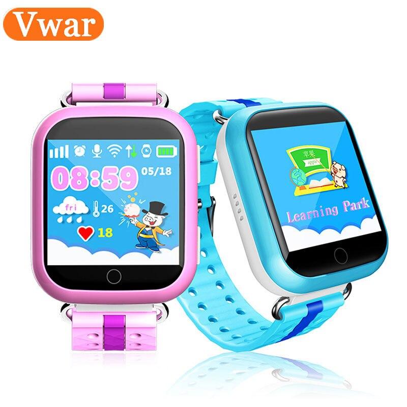 GPS WIFI Bébé Montre Smart Watch Q750 Q100touch écran SOS Appel Dispositif de Localisation Tracker pour Kid Safe PK Anti-Perdu moniteur Q60 Q80 Q90