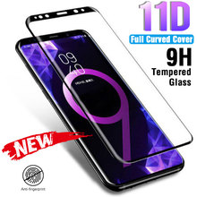 11D Curved Screen Protector For Samsung Galaxy S8 S9 S10E S6 S7 Edge Plus Lite Full Tempered Glass S10 Note 8 9 Film
