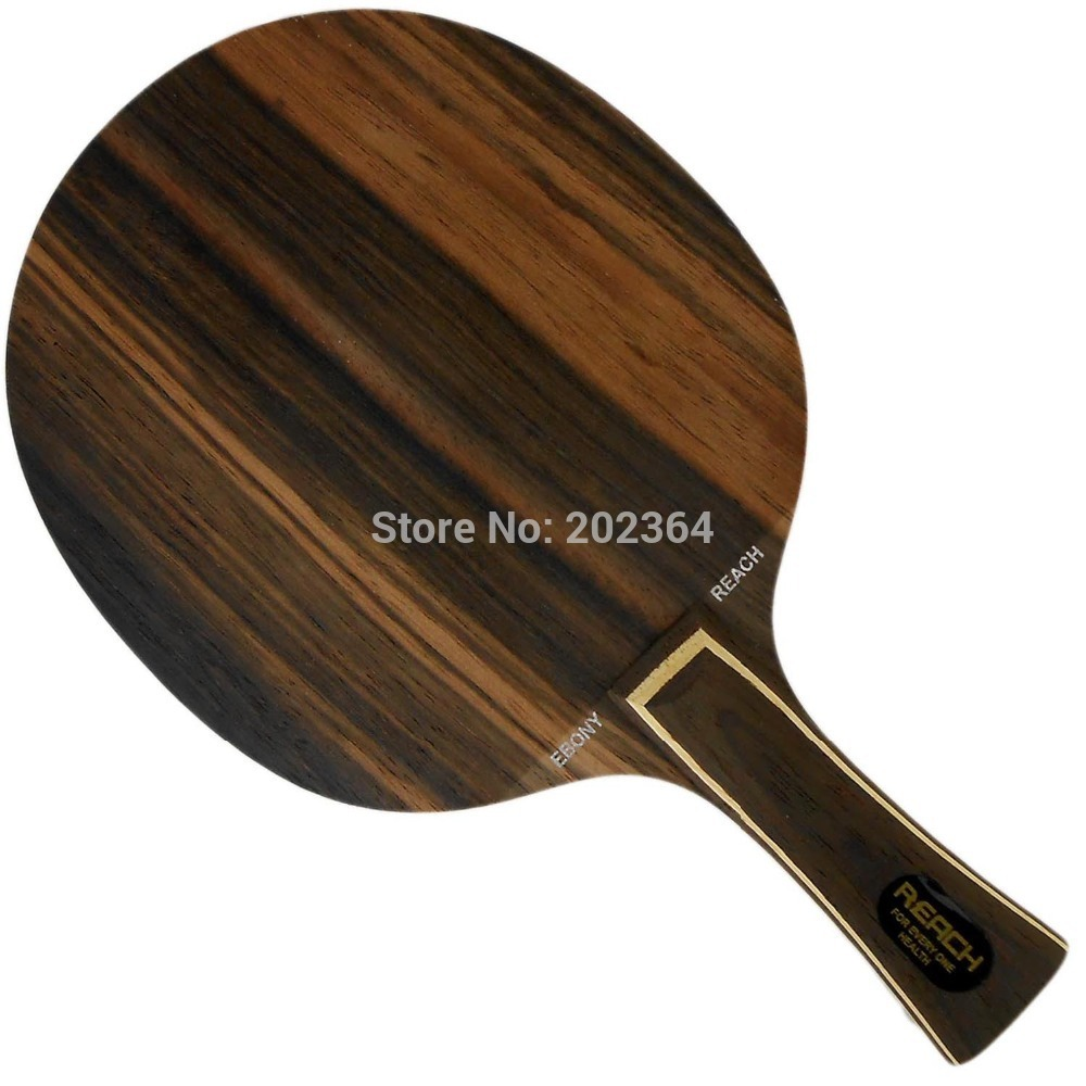 Reach Ebony-7 (Ebony 7, Ebony7) Medium-Fast Table Tennis Blade for PingPong Racket hrt ebony nct vii ebony vii ebonyvii table tennis ping pong blade