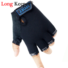 Gloves Bycicle Children Cycling-Luvas Half-Finger Long-Keeper Sports Outdoor Boys