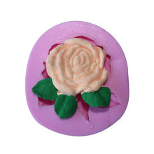 Pioen Vorm Cake Decoratieve Silicone Mold Fondant Cookie Chocolade Mould Candy Cake Pudding Muffin Mallen Diy Bakken Tools G019