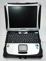 i5 3320m 8G Toughbook Panasonic CF 19 CF19 CF 19 laptop for MB Star C4/C5/BMW ICOM Diagnostic tool works perfect