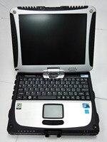i5 3320m 8G Toughbook Panasonic CF 19 CF19 CF 19 laptop for MB Star C4/C5/BMW ICOM Diagnostic tool works perfect