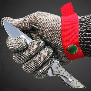 Image 3 - قفازات عمل مقاومة للقطع من الفولاذ المقاوم للصدأ