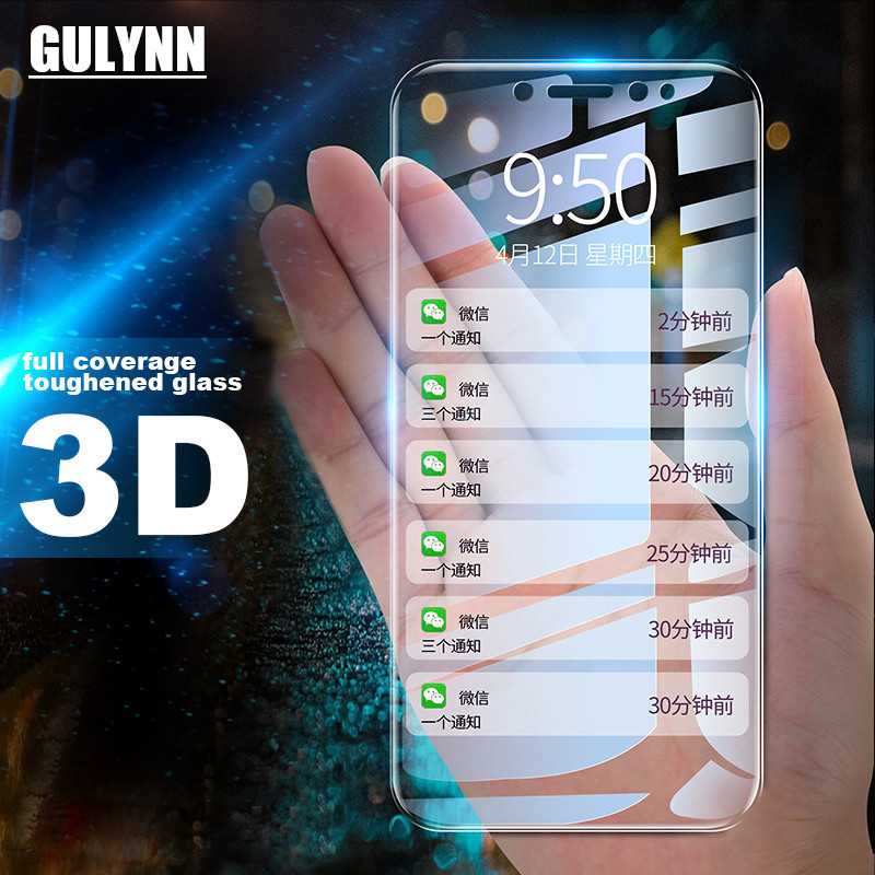 9H Protective Full Cover Tempered Glass For Xiaomi A2 Redmi 6 7 7A 6A K20 PRO 5 Plus 5A Note 5 6 7 PRO 3D Screen Protector Film(China)