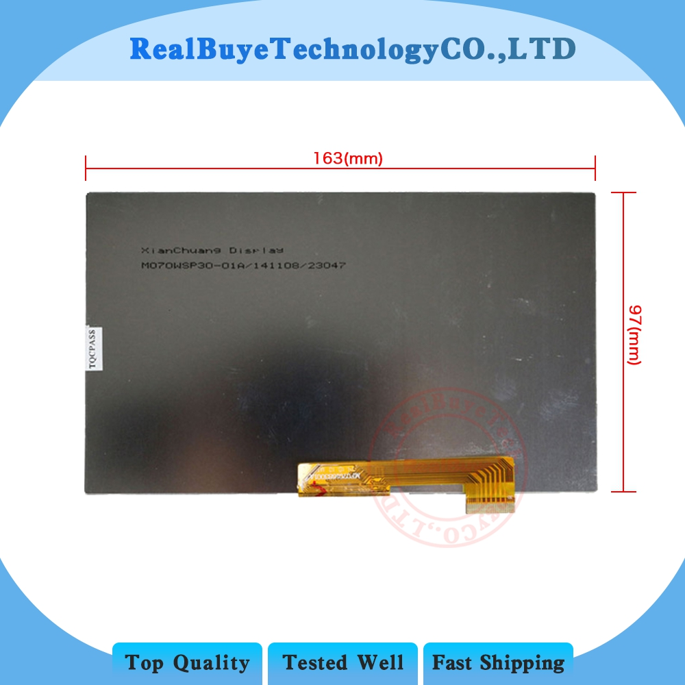 """A+ LCD Display Matrix For 7"""" Haier Hit 3G / 4Good T700i 3G TABLET 30pin  LCD Screen Panel Module Glass Replacement lcd display matrix 4good t700i 4good t700i 3g - title="""