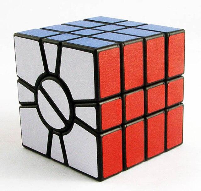 Qj SSQ ( cuatro capas ) Cubo blanco y negro de aprendizaje y juguetes educativos Cubo juguetes Speeding Cubo