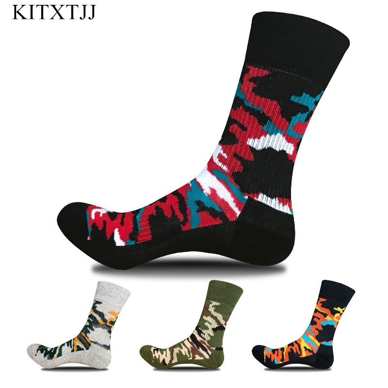 New Arrival Men Sock Fashion Cotton Brand Happy Activities Harajuku Cool Skate Meias Crew Sox Calcetines Hombre Winter Wholesale