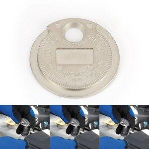 Image 5 - 1 piezas bujias de encendido bujía herramienta de calibre herramienta de medición moneda tipo 0,6 2,4mm de spark plug manómetro de herramienta Gage 4 unids lote china antorcha iridium bujías de platino
