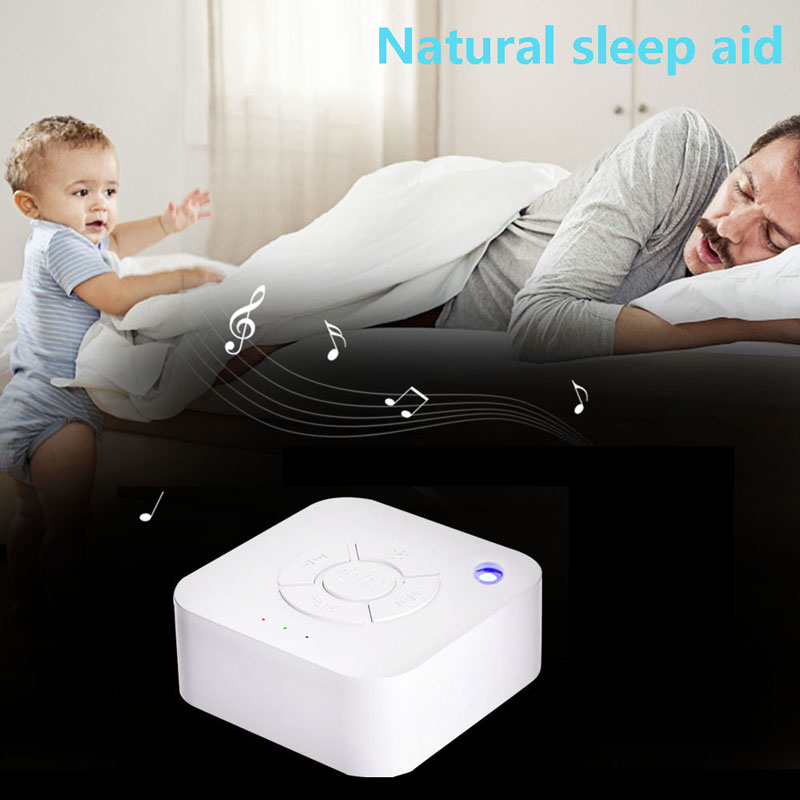 Image 4 - Hot Sale Baby Monitor White Noise Sleep Machine For Sleeping Relaxation for Cry Baby Adult Office USB Charging timed Shutdown-in Baby Monitors from Security & Protection