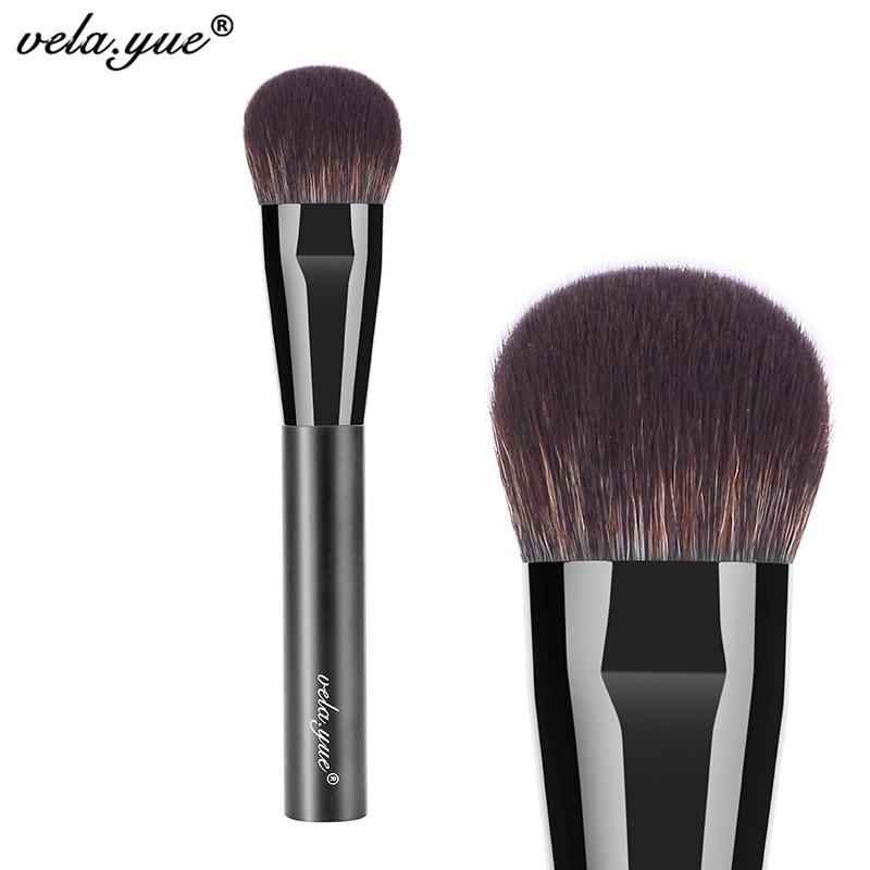 vela.yue Cheek Finish Brush Multipurpose Face Highlight Contour Blending Makeup Brush все цены
