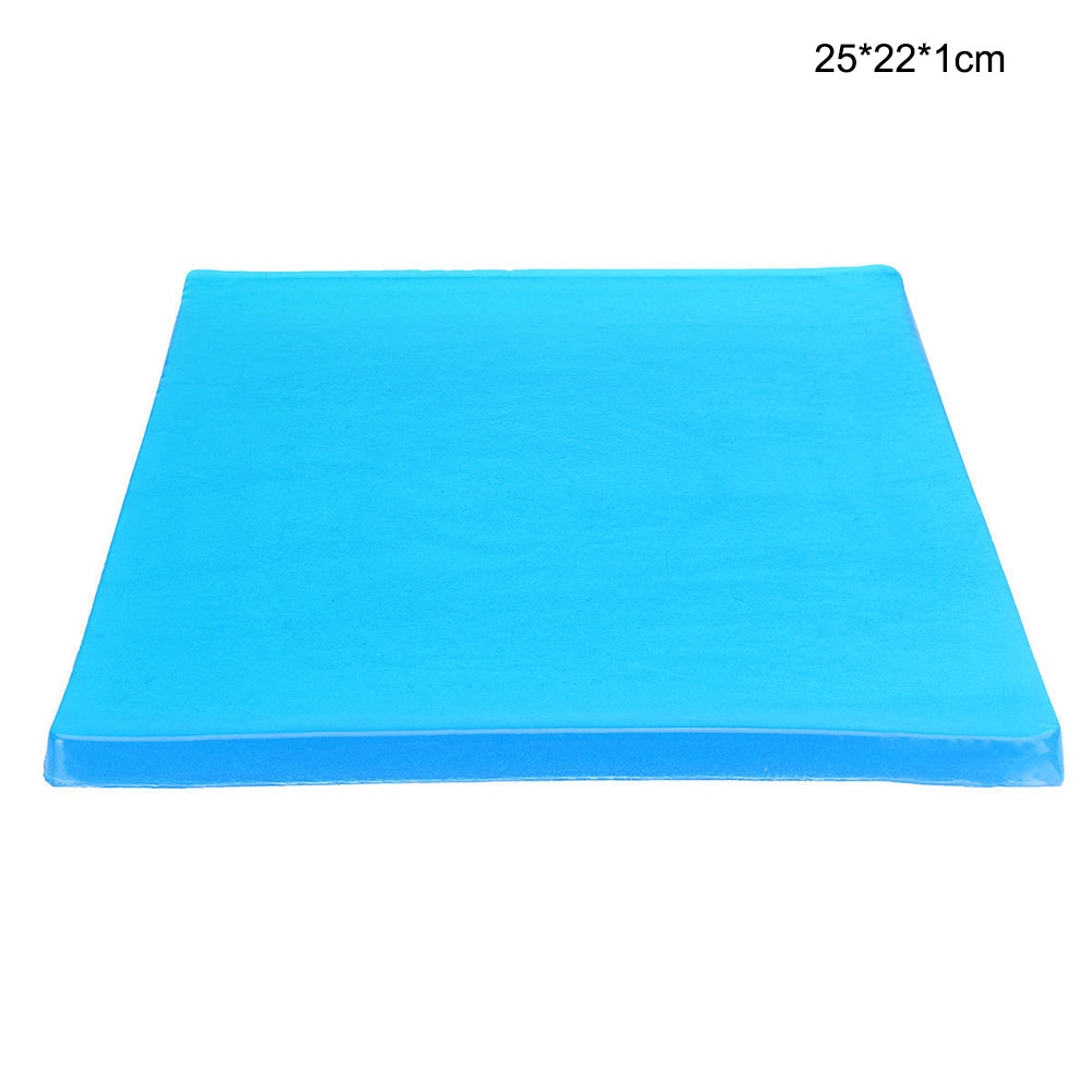 Motorcycle Seat Gel Pad Comfortable Shock Absorption Mat Cushion Accessories