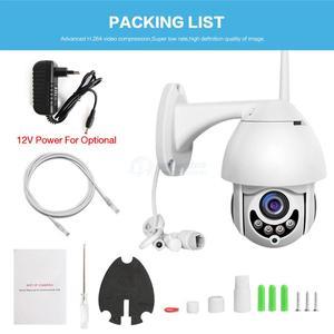 Image 5 - Wifi 카메라 야외 ptz ip 카메라 1080p onvif 2mp 무선 보안 속도 돔 카메라 ir cctv 감시 카메라 p2p app xmeye