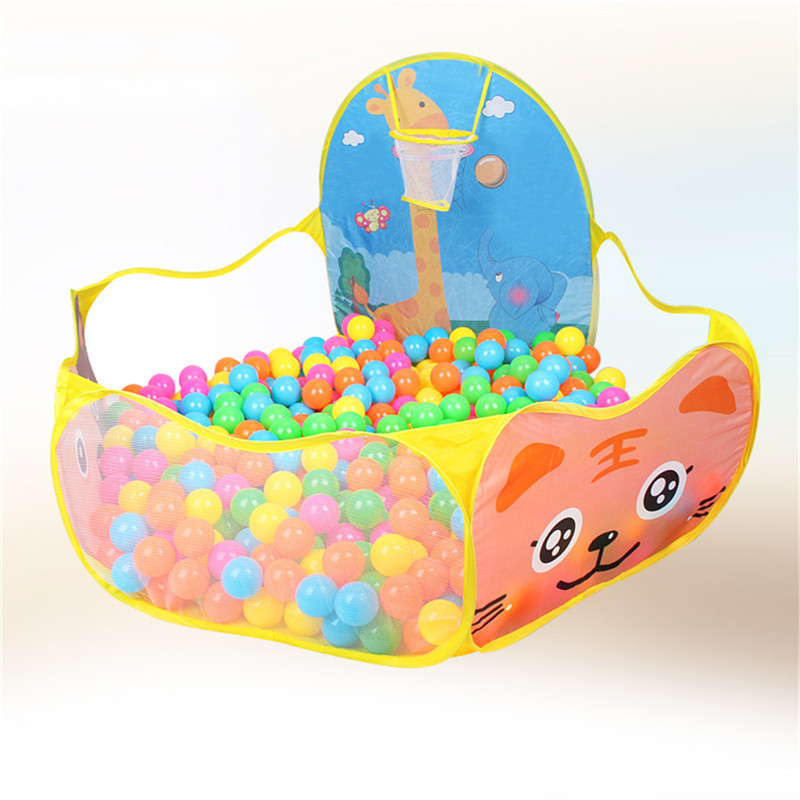 New Children Ocean Ball Pit Swimming Pool Cartoon Game Play Tent Kids Hut Childrens Indoor Outdoor Gaming Toys Storage Playpen