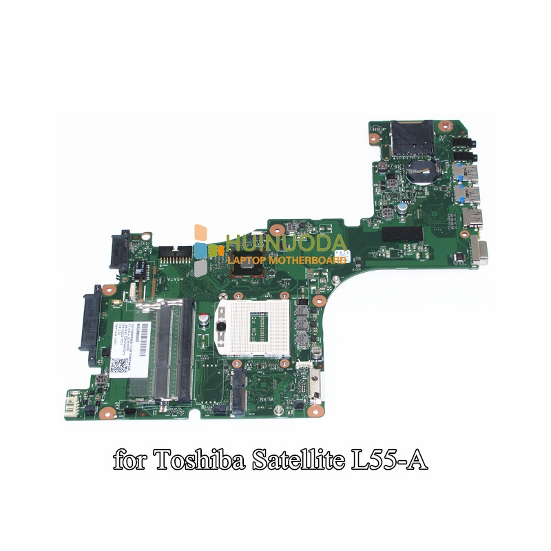 NOKOTION V000318010 Main Board For Toshiba Satellite L55 L55-A Laptop Motherboard 1310A2555901 HM86 GMA HD4400 DDR3L nokotion sps t000025060 motherboard for toshiba satellite dx730 dx735 laptop main board intel hm65 hd3000 ddr3