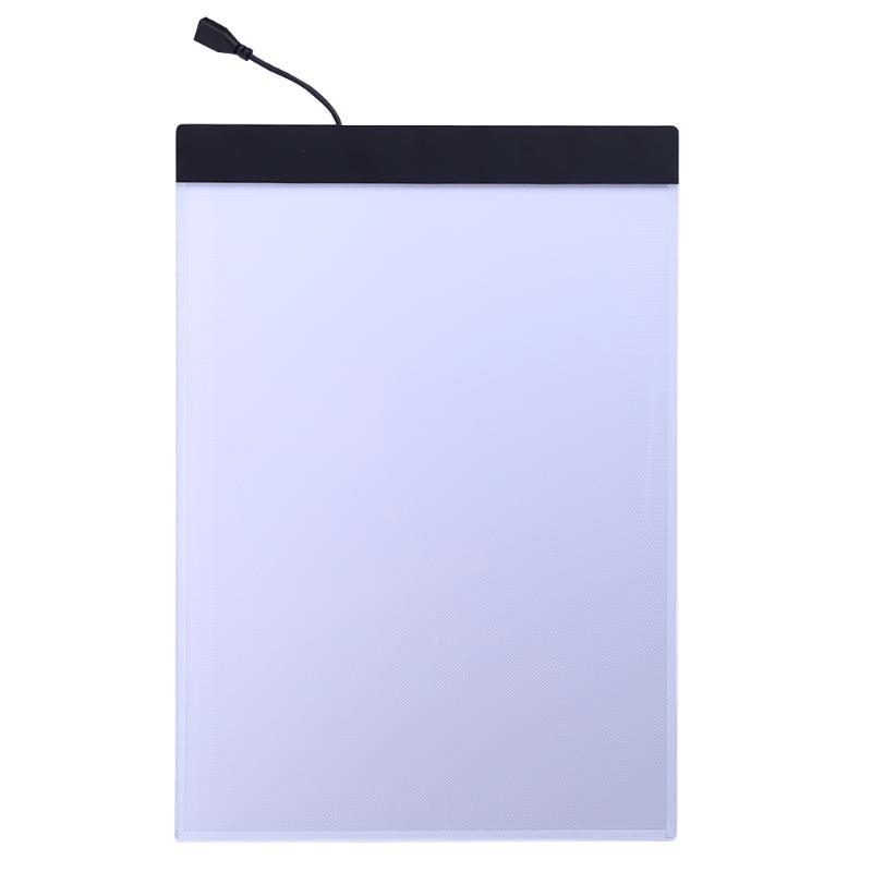 USB Led A4 papel LED copy pad escritorio arte dibujo tracing stencil tablero táctil tipo tabla artista niños Placa de escritura pintura Tablets placa gráfica