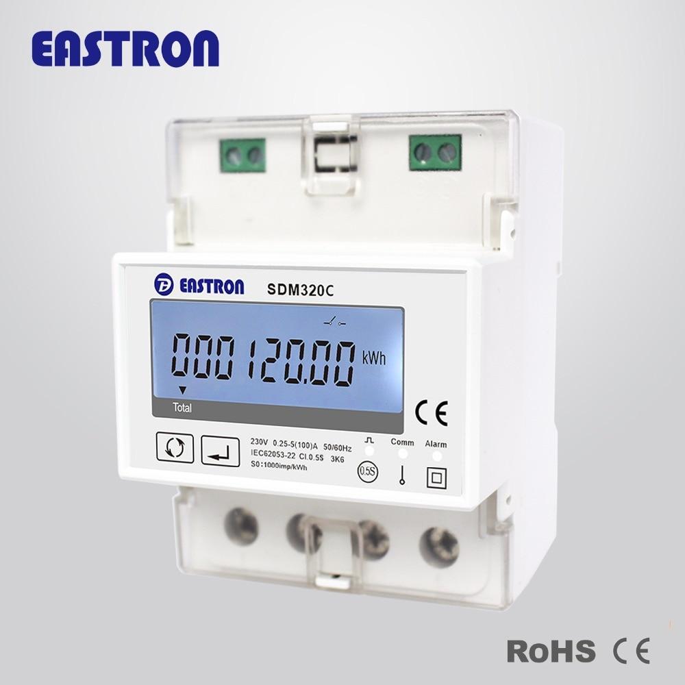 5(60)A 110V 230V 50HZ 60HZ Single phase Din rail WIFI smart