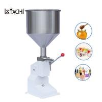 LSTACHi новые пищевой наполнительный аппарат ручной Давление нержавеющей паста розлива жидкого упаковочное оборудование для оберточной коро