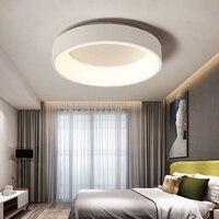 Светодио дный светодиодный потолочный светильник современная панель лампа осветительное оборудование гостиная спальня кухня поверхностн