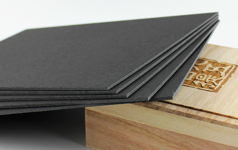 2 Sheets/Pack 1mm Thick Black Chipboard Paper Cardstock Cardboard ...