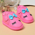 2016 0 to 2 years old baby boy and girl cotton shoes first walker keep warm newborn toddler shoes cartoon kids sports shoes