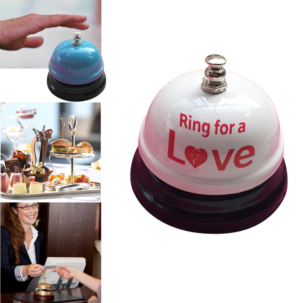 High Quality Hotel Counter Desk Bell Ring Metal Reception Restaurant Kitchen Bar Service Call Kitchen Timers Wholesale 0307