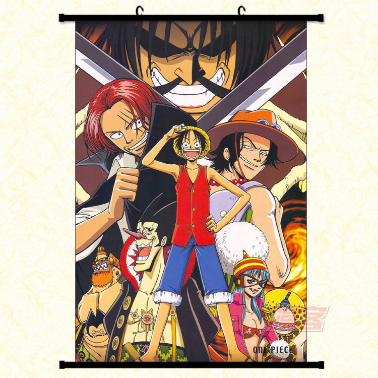 One Piece Luffy Assassins Canvas Fantasy Motivational Abstract Art Laminas Decorativas Pared Cuadros Painting By Numbers HD DIY6