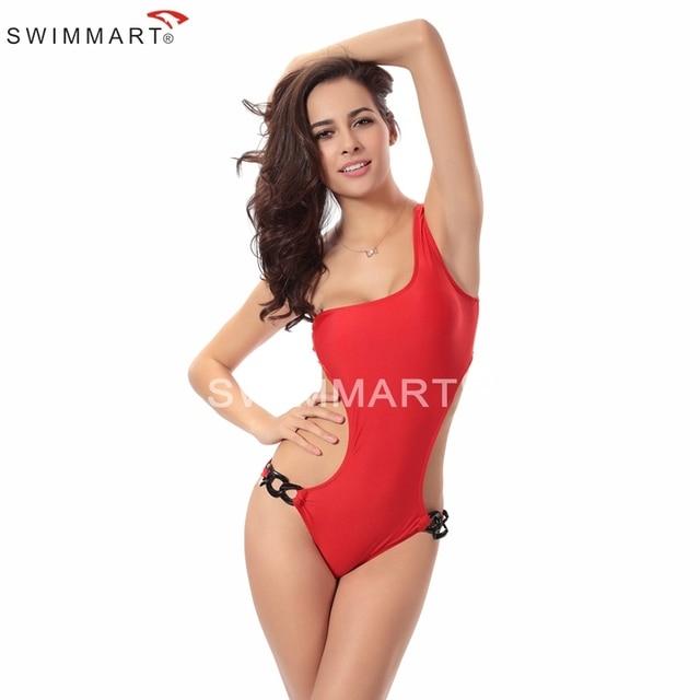 Bathing suit women 2016 crochet monokini swimwear push up Summer Swimming Suit women one piece set plus size swimsuits dress