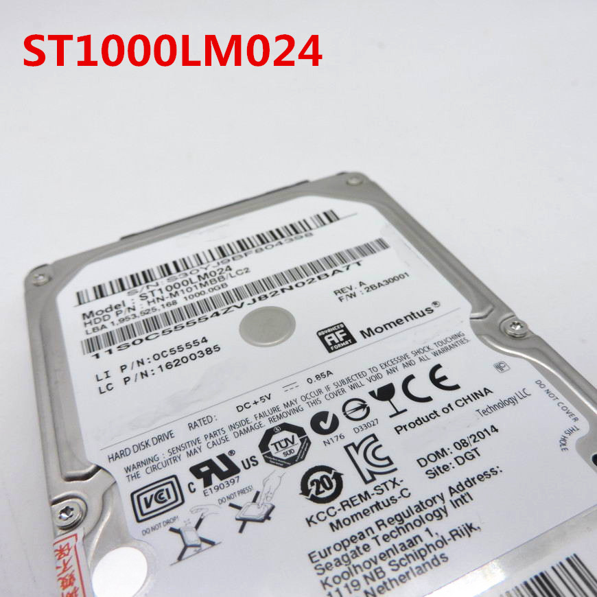 100%New  1 Year Warranty  ST1000LM024  HN-M101MBB 1T  2.5inch  Need More Angles Photos, Please Contact Me
