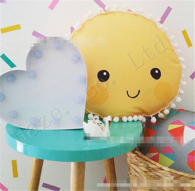 Nuvem sol Pano de Algodão PP Stuffed Boneca Brinquedos de pelúcia Almofada Travesseiro