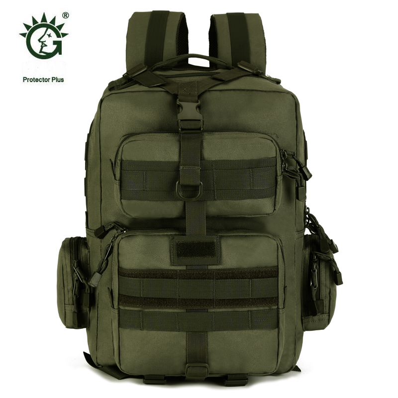 Protector Plus 30L Sports Outdoor Military Molle Tactical Backpack Bag For Cycling Hiking Backpacks Mochila Camping Bags