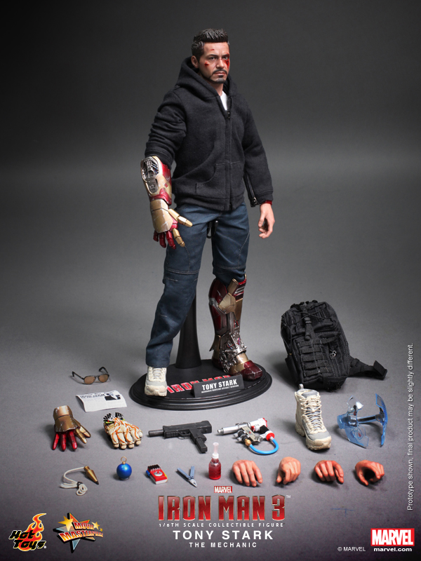 Hot Toys Hottoys HT MMS209 1 6 Iron Man Tony Stark The Mechanic Collectible Figure Specification