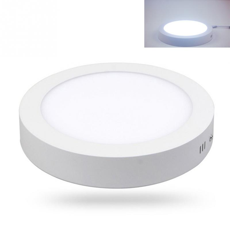 Ceiling Bathroom Light Led Flat Round Down Kitchen Panel