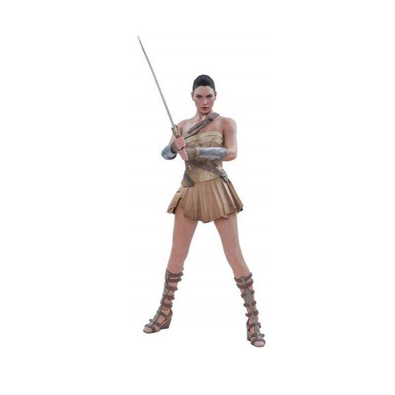Jouets chauds DC Comics Wonder Woman (Version armure d'entraînement) 1/6 échelle Figure amoureux cadeau R44