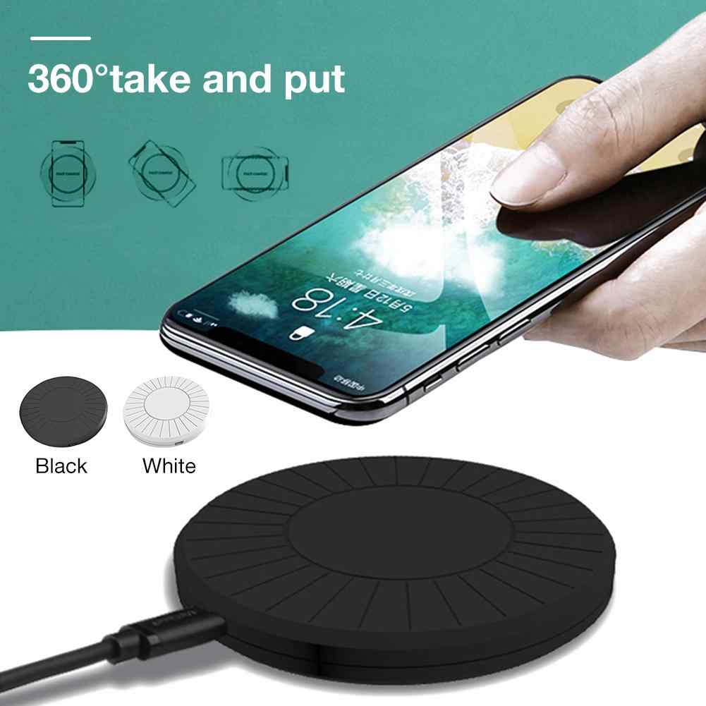 QI Mobile Phone Wireless Charger 5W General Charge for Apple Mobile Phone Universal Desktop Wireless Fast Charging Pad