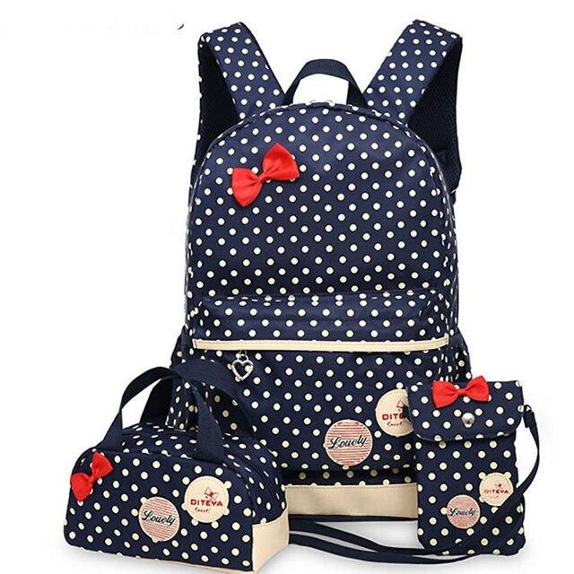 Online Shop Backpacks School Bags For Teenagers girls backpack set ...