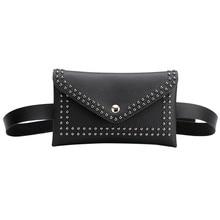 Diagonal bag shoulder PU leather rivet fashion handbag Rivet