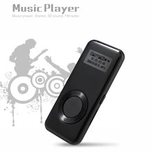 BENJIE Mini MP3 K3 8 gb Thinner MP3 Stereo Music Player 3D Som Registro FM E-Book de Metal MP3 Esporte com línguas do fone de ouvido(China)