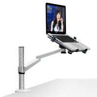 Laptop Stand Holder Arm Office Laptop Mount Desktop Bracket with tray OA 1SS Suit for 10 15.6 inch Laptop