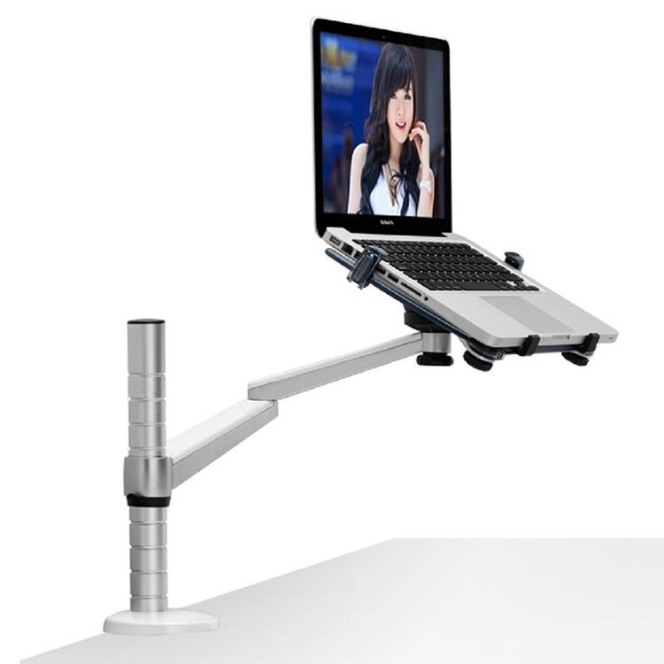Suporte de Mesa com a Bandeja Terno para 10-15.6 Laptop Stand Titular Braço Escritório Montar Oa-1ss Polegada