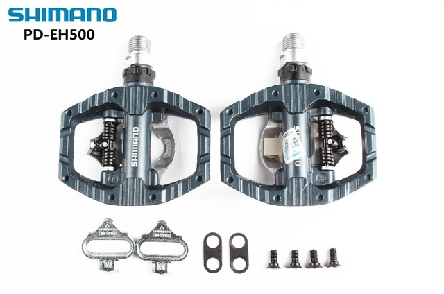 be597f1b58c SHIMANO Pedals A530 PD-EH500 Road Bike Touring Pedals bike self-locking  pedal With SPD Cleats