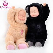 UCanaan 13.7inch plush täidisega mänguasjad karu pehmed mänguasjad lastele magamiskarva nukk moe jõulud sünnipäeva kingitus