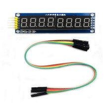 8 битный цифровой модуль трубка восемь последовательных 595 драйвер светодиодный дисплей